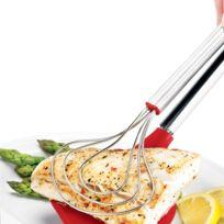 Cuisipro - Pince à poisson en silicone anti adhésive longueur 33cm