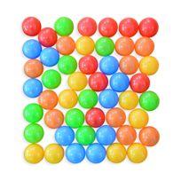 ALICE'S GARDEN - Lot de 50 balles en plastique colorées pour piscine de boules, billes, sphères