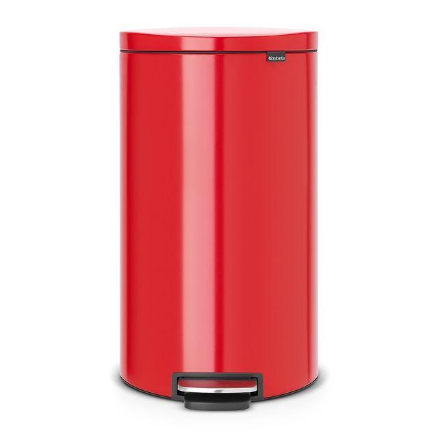 brabantia poubelle flatback 30l rouge pas cher achat vente poubelle de cuisine. Black Bedroom Furniture Sets. Home Design Ideas