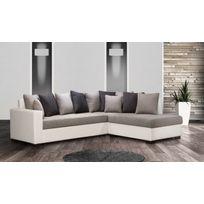 Modern Salon - Canapé Poros Bed droit Dx soro 90/97 plus blanc