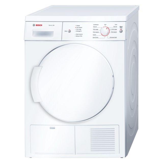 bosch s che linge condensation 60cm 7kg b blanc wte84104ff achat s che linge condensation b. Black Bedroom Furniture Sets. Home Design Ideas