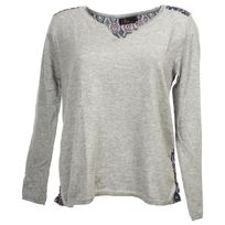 Culture Sud - Pull fin Lumial gris pull fin f Gris 75687