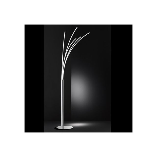 Millumine Grand lampadaire Led à 5 branches Liane dimmable