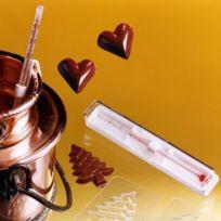 C. Diffusion - Thermomètre Chocolat 0° à 40° et 12 moules coeur