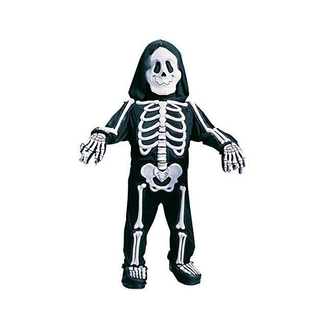 Fun World Costumes Baby Boys Totally Skelebones Black/White Large