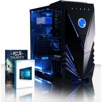 VIBOX - Processeur CPU Six 6-Core AMD FX - Carte Graphique Nvidia GTX 1050 Ti 4 Go - 8 Go RAM - Disque Dur 1 To - Windows 10