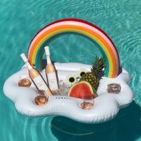 Wewoo - Bouée porte gobelet Piscine Partie Rainbow Nuage Boisson Tasse Bouteille Servant Bar Titulaire Flottant Spa Flotteurs