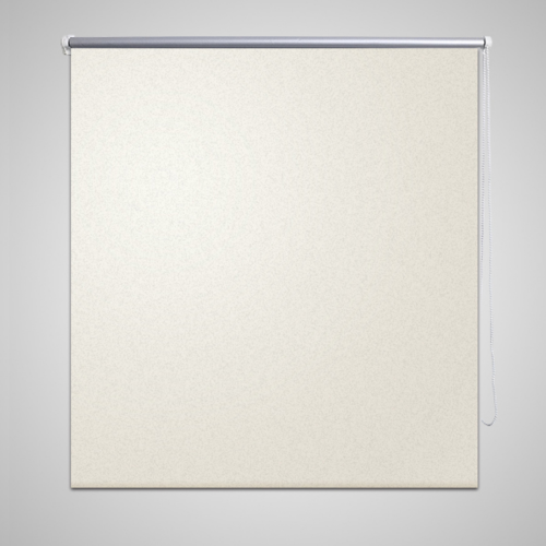 Rocambolesk - Superbe Store enrouleur occultant 140 x 230 cm crème Neuf