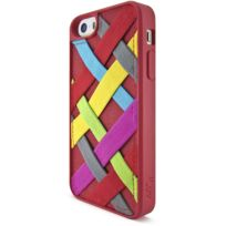 ILuv - Coque Tangle rouge pour Apple iPhone 5/5S