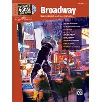 Alfred Publishing - Partitions Variété, Pop, Rock. Broadway + Cd - Voice Vocal
