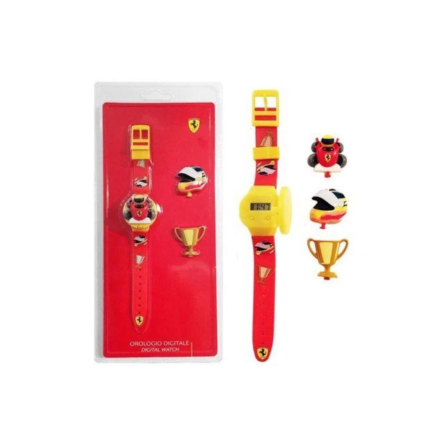 Scuderia Ferrari Montre Enfant Garçon Ferrari Mod. Kid Kit - Interchangeable Top 2FUZ810004