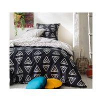 housse couette ecru achat housse couette ecru pas cher rue du commerce. Black Bedroom Furniture Sets. Home Design Ideas