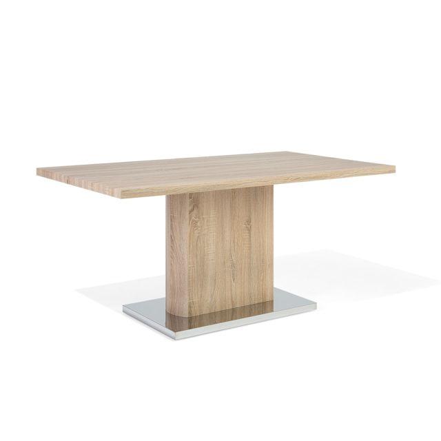 BELIANI Table de salle à manger gris sonoma PASADENA - gris
