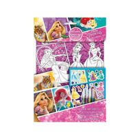Princesse - Princess Foil Colouring Set