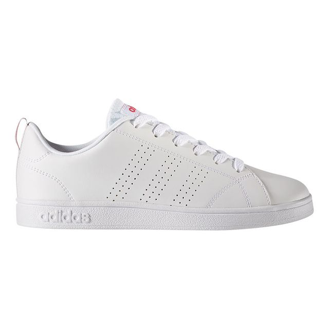 8638205ffa Adidas - Chaussures neo Vs Advantage Clean blanc rose junior Multicolour -  35 1 2