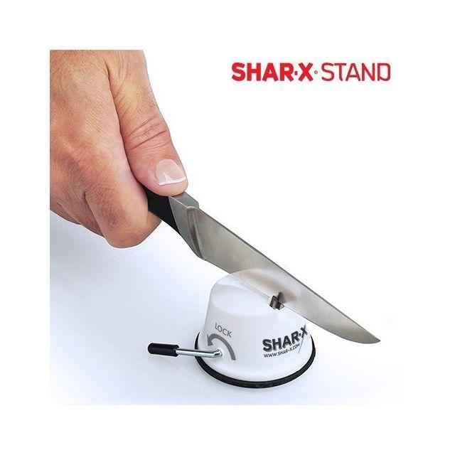 Totalcadeau Appareil à aiguiser les couteaux - iguiseur de Couteaux pour des Couteaux de Cuisine et de Boucherie