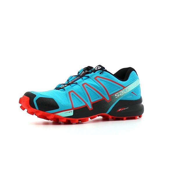 Salomon Chaussure de Trail femme Speedcross 4 Femme Bleu
