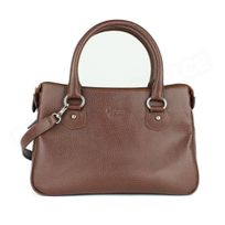Volumica - Mini sac Cabas Monaco cuir Marron Beaubourg