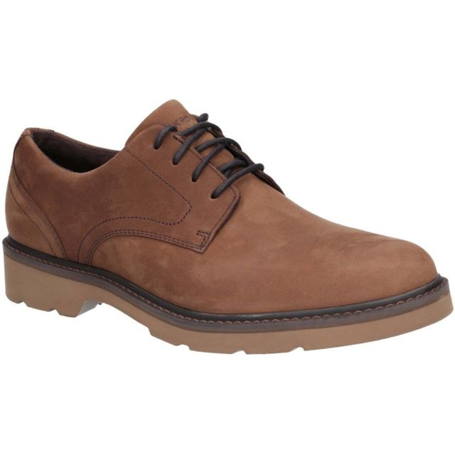 Rockport Derbies Charlee - Homme 44 Eu, Marron claire Utfs5984