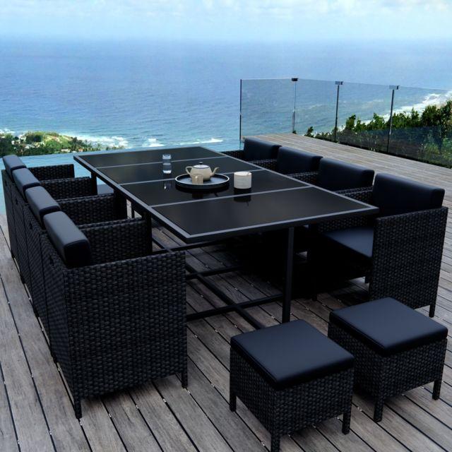 Ims Garden - Munga 12 Places - Ensemble encastrable salon / table de ...