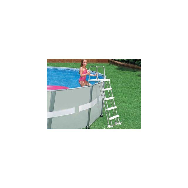 Intex vigipiscine echelle de s curit plateforme securit pour piscine hors sol d 39 une - Securite pour piscine hors sol ...