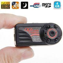 Yonis - Mini Caméra Espion 12MP photo vidéos vision nocturne Hd 1080P 4Go