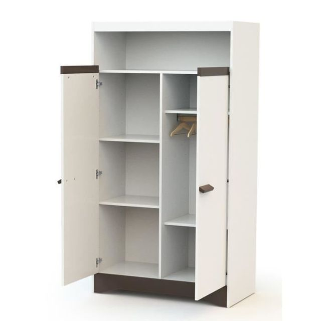 At4 Icaverne Armoire Cotillon Armoire - Taupe