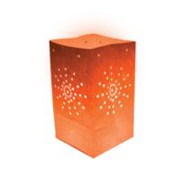 Skylantern - 5 Lanternes de Jardin Maya Orange