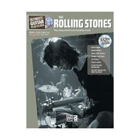 Alfred Pakketbrievenbussen - Ultimate Guitar Play-along Rolling Stones: Authentic Guitar Tab