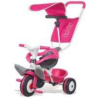 Smoby - tricycle baby balade rose - 444207