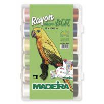 MADEIRA - Smart Box fils à broder Rayon 8043