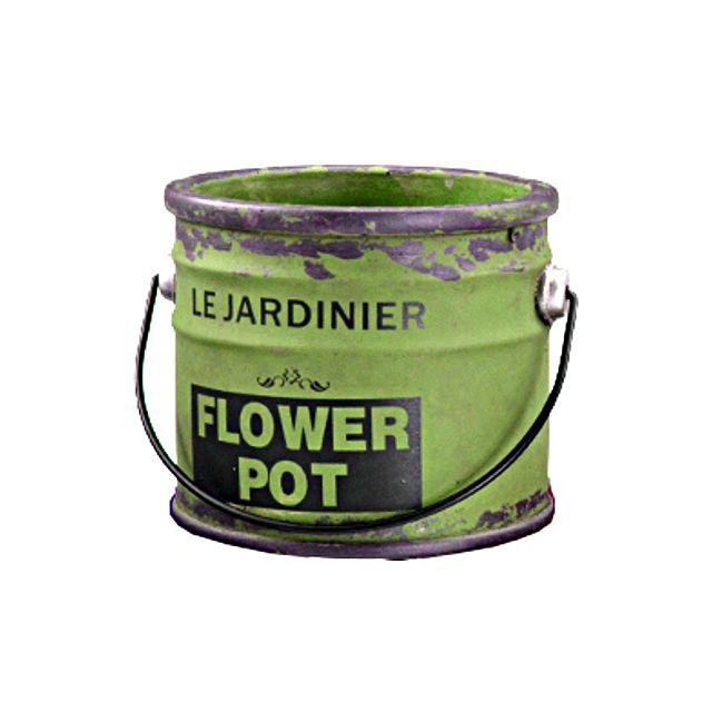Home Edelweiss Pot De Fleur Peinture Vert Pas Cher Achat Vente