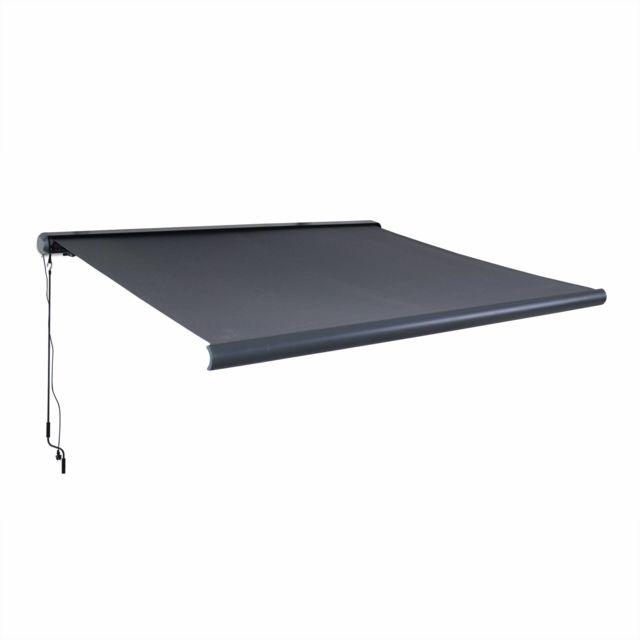 alice 39 s garden store banne lectrique ombrec 3x2 5m. Black Bedroom Furniture Sets. Home Design Ideas
