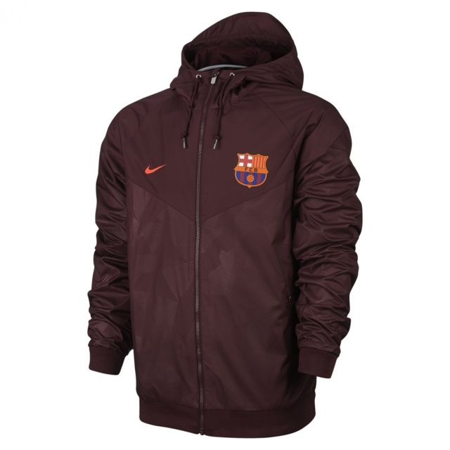 Authentic Fc Veste Windrunner 883507 Nike Football De Barcelona xnXYfqt6