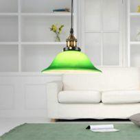 En Avec Led Vert Émeraude Edison Style Lampe Vintage Suspendue Verre Blanc Chaud Salon Industriel Ampoule E27 Luminaire Pendentif EHIYW29D