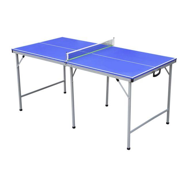 b0e7ff1bdad50 Destockage CARREFOUR Table de tennis de table transportable pas cher -  Achat / Vente Matériel - RueDuCommerce