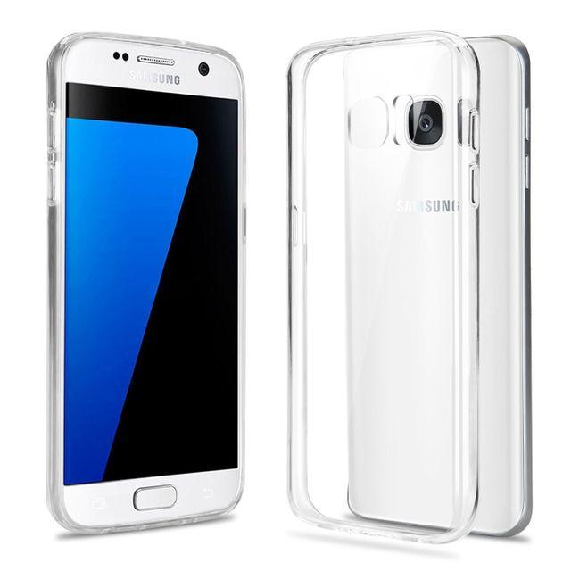 9928290124ad8d Cabling - Gel Transparent Coque ultra fine en silicone pour Samsung Galaxy  S7 Edge - pas cher Achat   Vente Coque, étui smartphone - RueDuCommerce