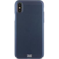 Colorblock - iPhone X Perf metal case - Noir