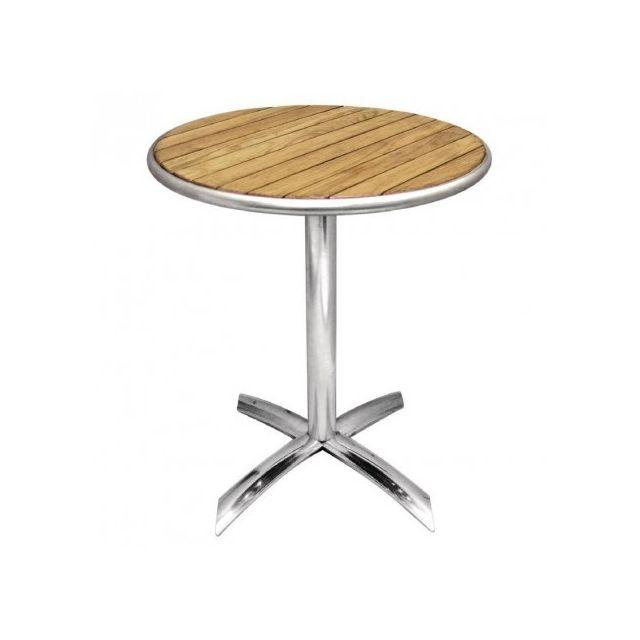 Materiel Chr Pro Table à plateau basculant Frêne Bolero 600 mm - Bois clair