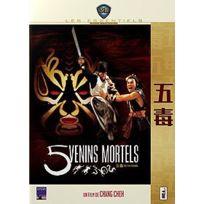 Dvd - 5 Venins Mortels Version Pocket