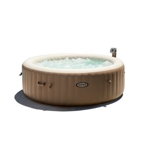 intex spa gonflable purespa rond bulles 6 pl kit brome 6 places pas cher achat vente spa. Black Bedroom Furniture Sets. Home Design Ideas