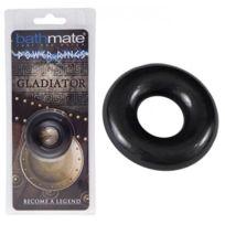 Bathmate - Anneau noir Gladiator medium