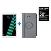 Galaxy Tab A6 - SM-T580NZWAXEF - Wifi - Blanc + Housse tablette pour Galaxy Tab A 10,1'' 2016