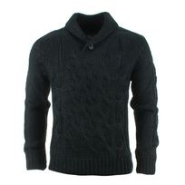Crossby - Pull Cardigan Twin Noir