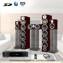 Beng - Ensemble Home-cinéma Hifi 1240W + ampli 360W V9B-AC + Atm8000BT + Cable