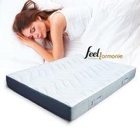 Feel Harmonie - Matelas 140x190 Memoire De Forme, Latex Et Mousse
