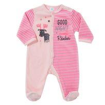 TEX BABY - Pyjama bébé GOOD NIGHT en velours