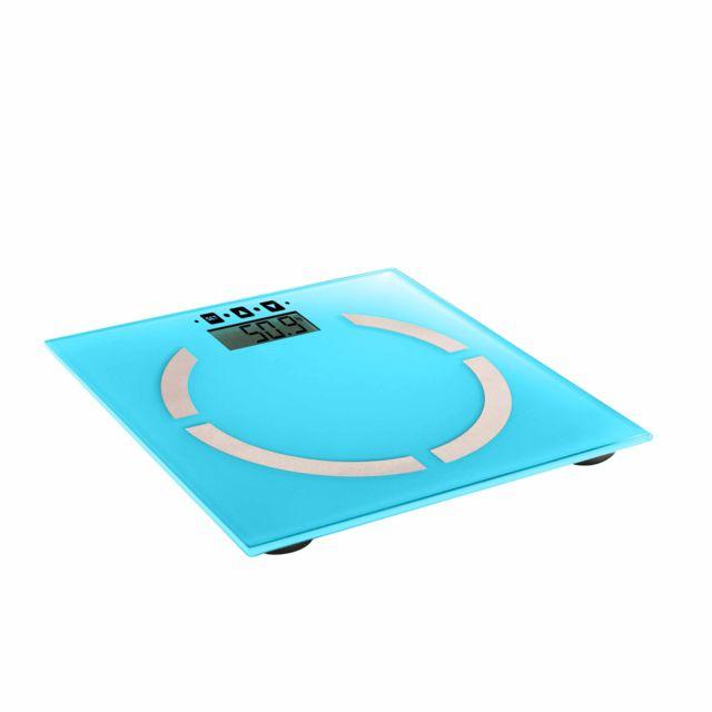 DOMOCLIP Pèse-personne électronique bleu DOM254B