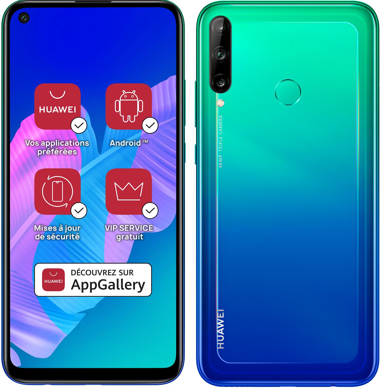 Smartphone P40 Lite E 64 Go Huawei Bleu