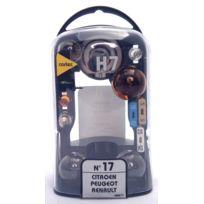 Cartec - coffret H7+ ambre pour Psa/Renault